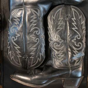 Vintage Dan Post Western Boots 1990's size 11D